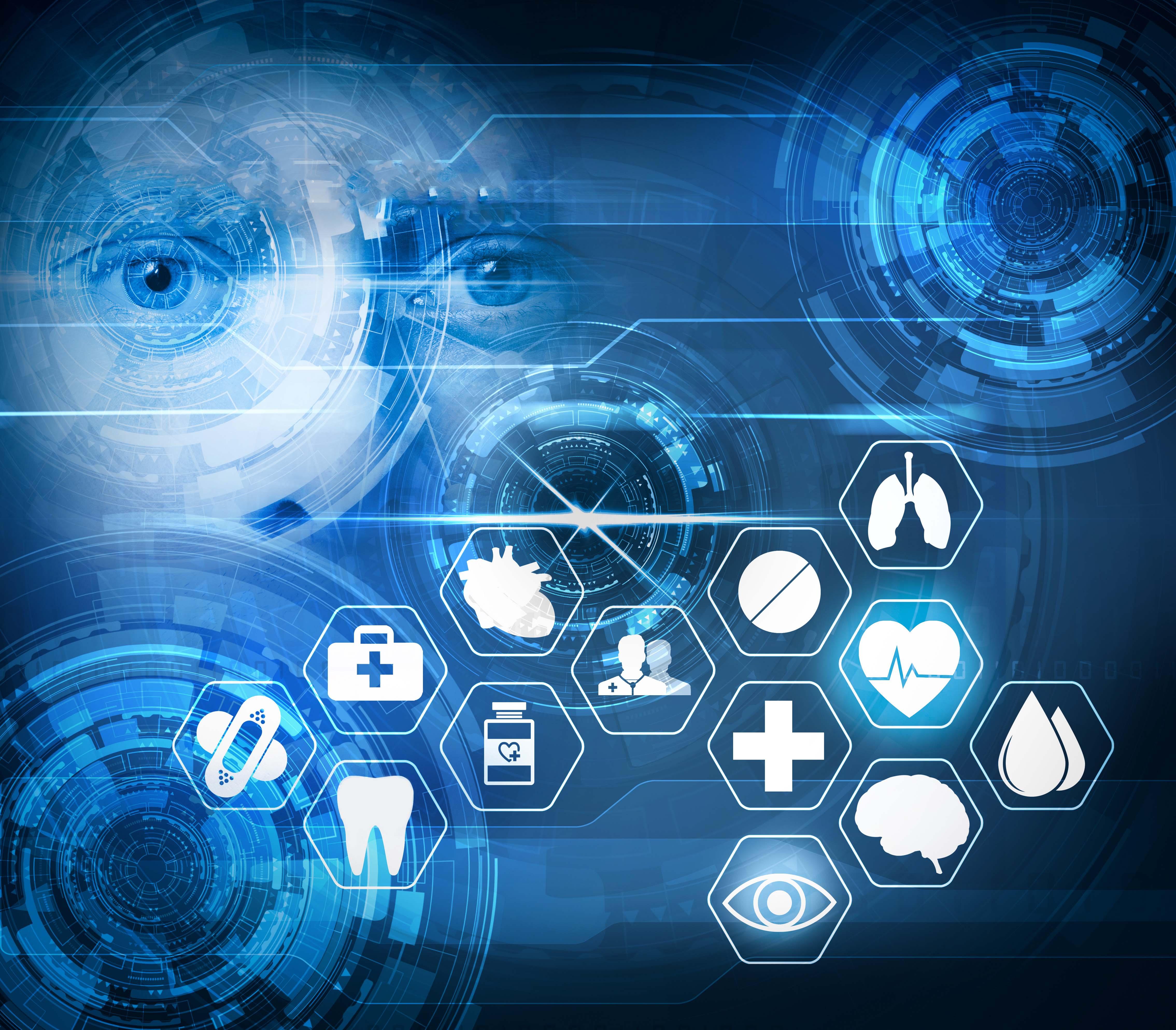 medical care futuristic technology